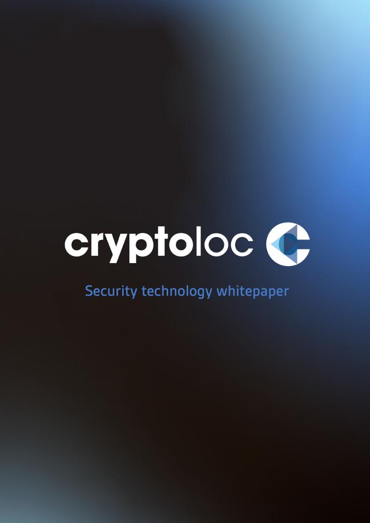 Cryptoloc Technology Whitepaper
