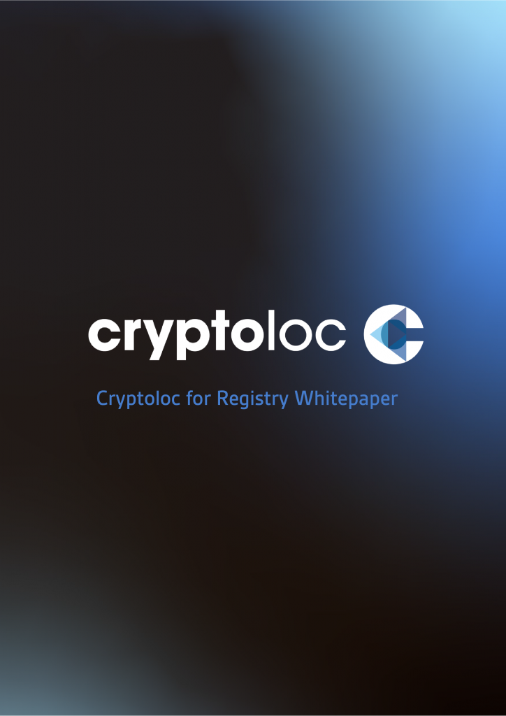 Cryptoloc for Registry Whitepaper
